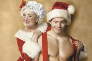 Mrs. Claus Partying!