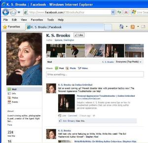Facebook Author Page