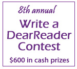 Write a DearReader Contest