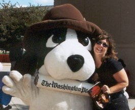 K. S. Brooks with the Washington Post Newshound