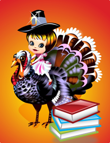 Turkey+Books print books holiday gifts