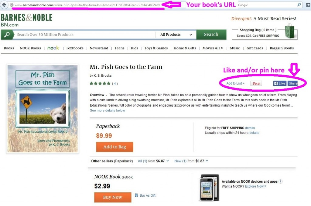 Mr Pish Goes to the Farm on Barnes & Noble