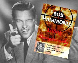Bob Hammond with his new book