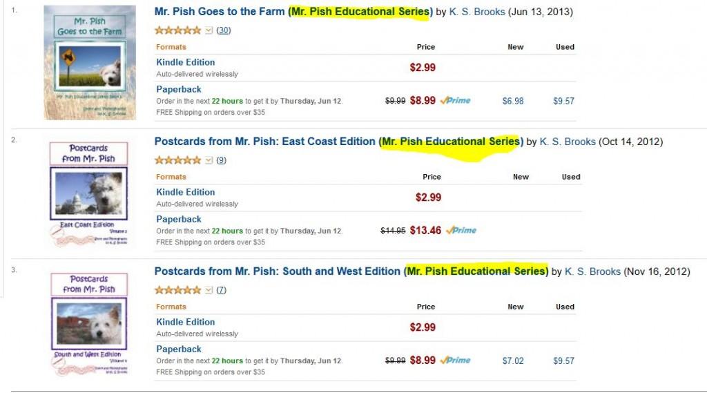 mr pish educational series