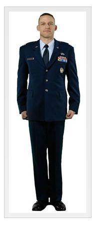 Usaf service dress blues