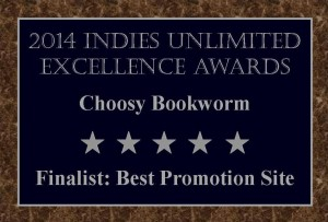 Finalists Plaque Choosy Bookworm