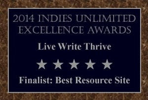 Finalists Plaque Live Write Thrive