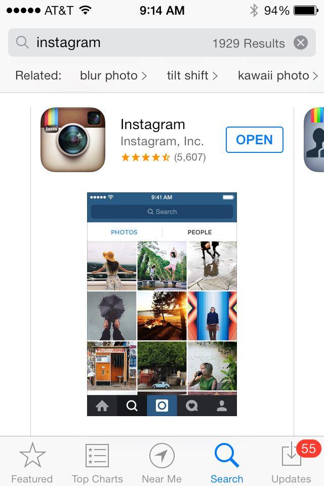 Как instagram загрузить