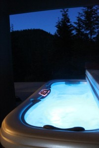 Mountain view Hot tub flash fiction writing prompt COPYRIGHT KS BROOKS 2015-06-19
