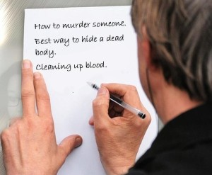 author list murder research