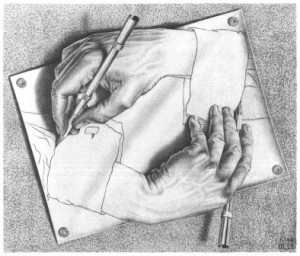are all readers authors? drawing_hands