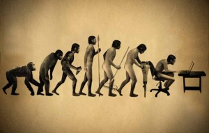 from ape to writer