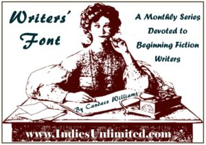 Writers font series advice for beginning authors