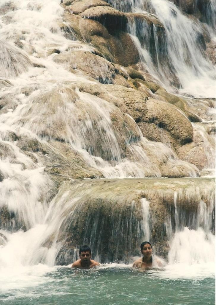 bathers dunns river falls 1998 flash fiction writing prompt