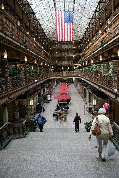 flash fiction writing prompt arcade building cleveland ohio oct 2008