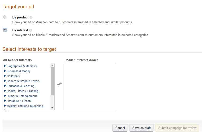 Amazon Marketing ad Product-set-up-3-target-int