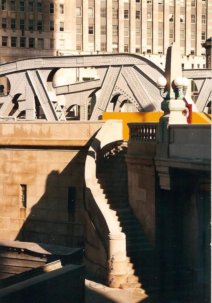 chicago 1996 staircase flash fiction prompt copyright KS Brooks