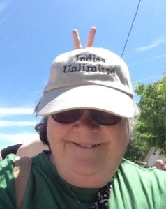 author lynne cantwell iu hat