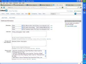 Linkedin Web Links