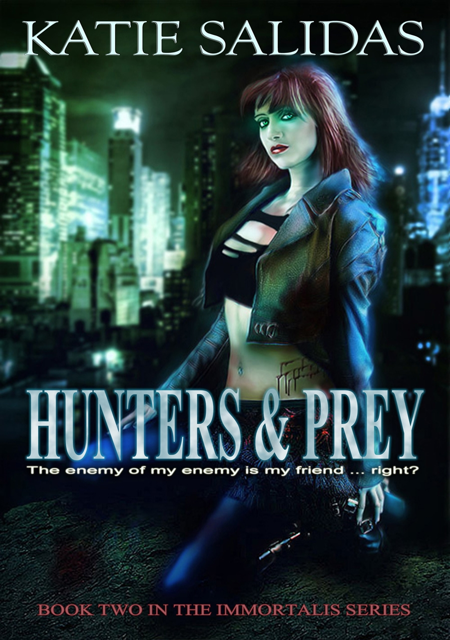 Sneak Peek: Hunters & Prey by Katie Salidas