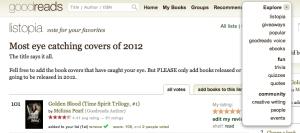 Goodreads EXPLORE!