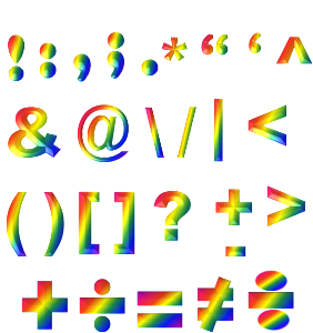 rainbow punctuation-787593_640