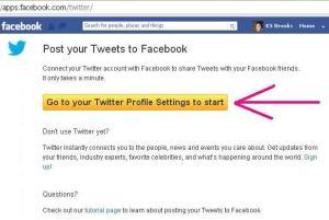 Tweet to Facebook 1