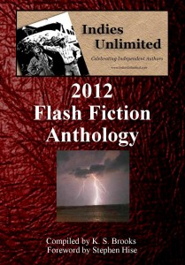 2012 Flash Fiction Anthology Working Cover