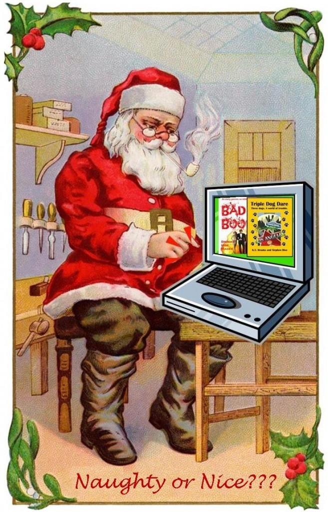 santa ordering books online