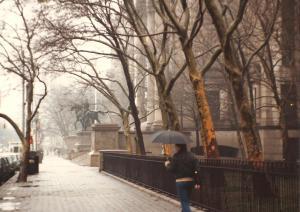 NYC rainy