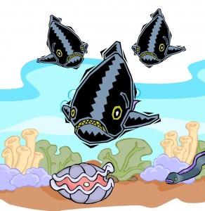 Print Book Piranhas