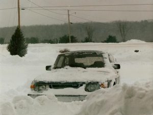 downeast snow Jan 1988
