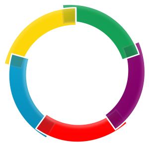 circle google color