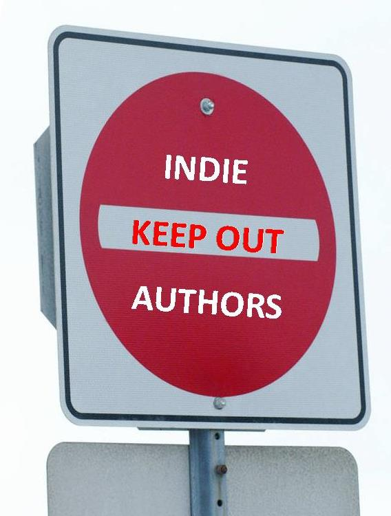 indie authors keep out