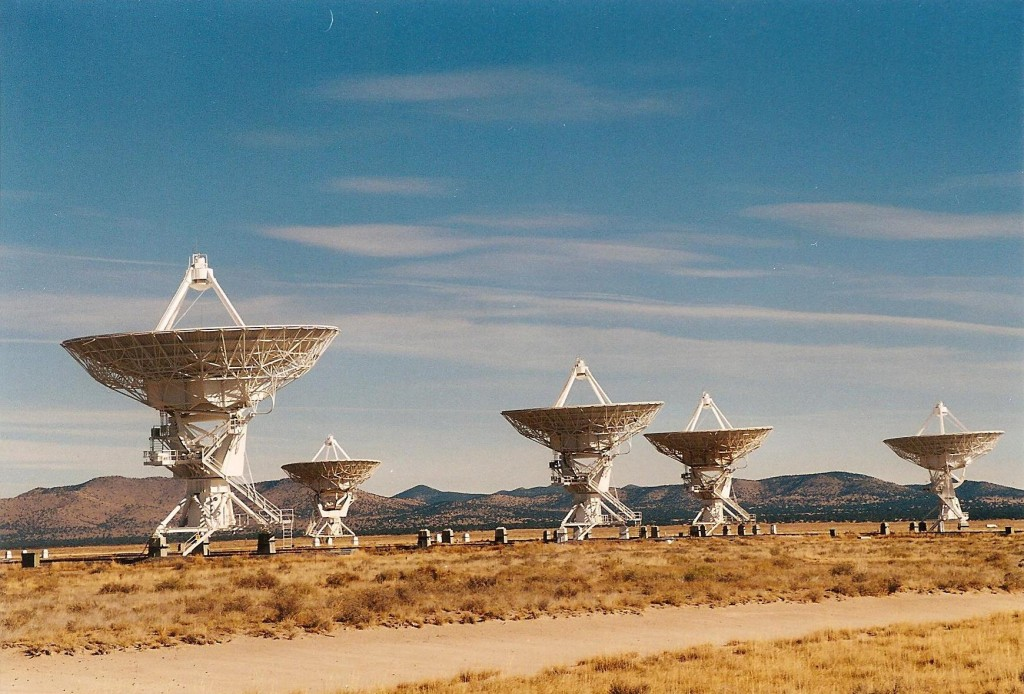 Very Large Array, New Mexico, by K. S. Brooks