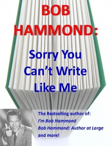 Bob Hammond You Cant Write Like Me