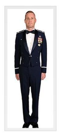 Navy dress uniforms wedding