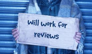 will work for reviews