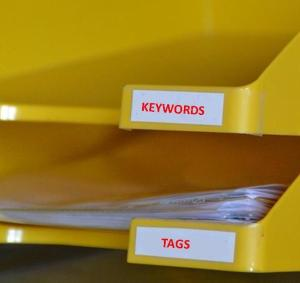 keywords and tags