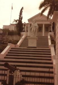 columbus new providence bahamas 1984