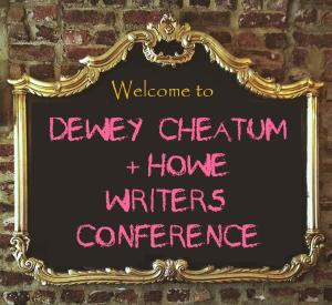 dewey cheatum howe writers conference