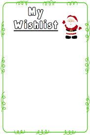 A writers wish list