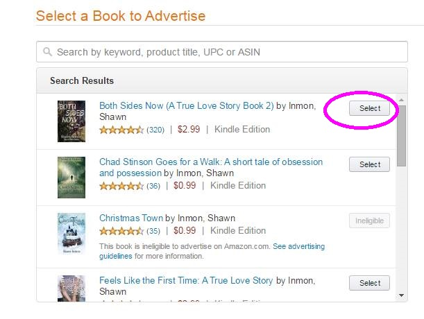 Amazon advertising IU3
