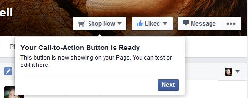 How to Make a Facebook Call to Action button 4