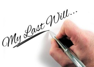 estate planning for authors last will