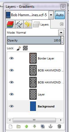 GIMP 2-1 layers gradients