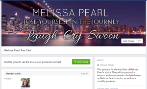 Melissa Pearl Fan Club on Facebook