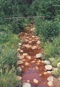 New Hampshire Stream writing prompt photo copyright K. S. Brooks