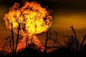 plot-driven explosion
