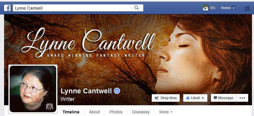 Lynne Cantwell Verified Author Facebook Page
